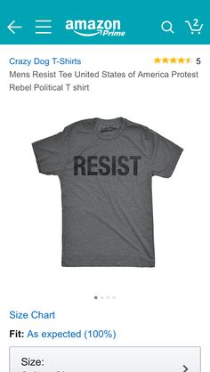 ce5357c8 8 Best RESIST images | Feminist shirt, Funny shirts, Funny tee shirts