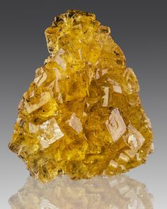 Golden Yellow Fluorite