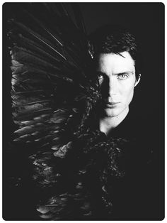 What the crap is this photo? Maybe they should remake The Crow... Oh, apparently they are... but with Luke Evans, not Cillian Murphy...