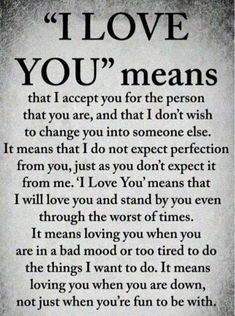 """Cute Love Quotes for Her that puts voice to your deepest feelings This is what """"I Love You"""" means to me Cute Love Quotes, Soulmate Love Quotes, Love Quotes For Her, Romantic Love Quotes, Love Yourself Quotes, Love Poems, Quotes For Him, Inspirational Quotes On Love, Beautiful Quotes About Love"""