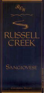 2008 Russell Creek Sangiovese Walla Walla Valley