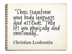 great shoes make or break the look!
