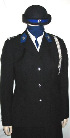 Dutch State Police, female major
