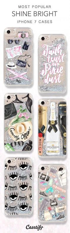 Most Popular Shine Bright iPhone 7 Cases here > https://www.casetify.com/collections/iphone-7-glitter-cases#/