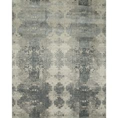 Jaipur Hand Knotted Antique White/Soft Gray Contemporary Pattern Rug