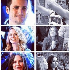 James Lafferty, Bethany Joy Lenz, & Sophia Bush. Perfect ending to the perfect show :)