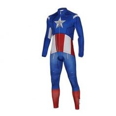 Captain America Cycling Jersey Cool Gifts Coolkaboodle Com