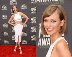 Karlie Kloss no MTV Movie Awards 2013. | Foto: Getty