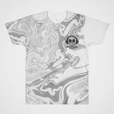 Go monochromatic this season. DeadPhonesClothing.com #tees #monochrome #streetwear #blackandwhite #style #fashion #fallfashion #fall #marbled #sweet #skull #skulls #dead #death #deadphones #scene #scenekid #scenegirl #sceneboy #punk #punkrock #clean #fresh #tshirt #alloverprint #swirllife #abstraction #abstract #want #giftsforhim