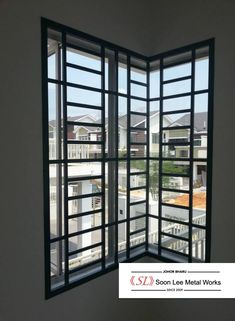 Soon Lee Metal Works :: Product & Services Window Grill Design Modern, Modern Design, Iron Windows, Windows And Doors, Iron Window Grill, Batangas, Modern Windows, Grills, Gates