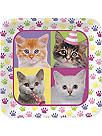 Kitty Cat Party Dinner Plates $2.55