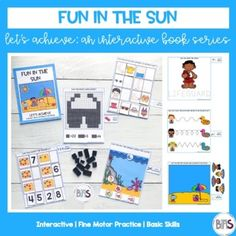 Interactive books are a great way to teach and practice basic skills. These books feature a variety of pre-academic and fine motor tasks. Use interactive books to keep your children or students actively engaged in work through the use of a creative theme and a structured set of activities. The title...