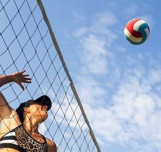 Summer Sports That Torch Serious Calories: Beach Volleyball