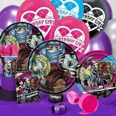 Ma boite à fête - Monster High - Castello   Jeux et Jouets