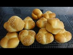 Bread Board, Dinner Rolls, Tasty, Make It Yourself, Baking, Youtube, Recipes, Food, Bakken