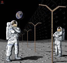 Read 12 Thought-Provoking Illustrations That Show The Problems Of The World Today