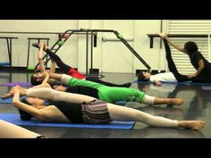 Floorwork and Supine Leg Extensions - YouTube
