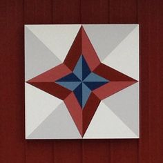 North Star - Americana Barn Quilt