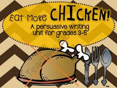 Thanksgiving Persuasive Writing Giveaway! Enter for your chance to win 1 of 2.  Thanksgiving Persuasive Bundle (16 pages) from Fabulous in 4th! on TeachersNotebook.com (Ends on on 11-2-2014)  This bundle has everything you need to teach or review persuasive writing with your students. Engage your students with this fun writing activity! Students will have to take a stand for the protection of turkeys. This pack includes persuasive sentence starters, transition words, a graphic organizer, and ...
