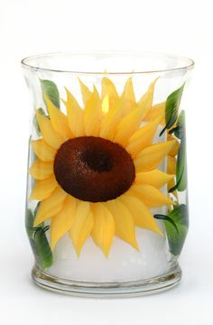 Sunflowers Candle Holder