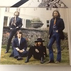 #beatles  picture of beatles from the album 'abbeyroad'