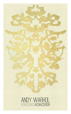 Rorschach, 1984 Giclee Print by Andy Warhol