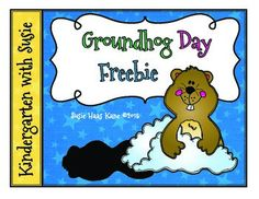 Groundhog Day Graphing Freebie All kids love to predict if Puxnsutawney Phill will see his shadow! After the predictions are made create a graph to show the class results. On February 2nd, the kids love discovering what Phil did!