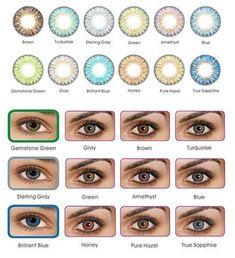 59a9d74e2a Freshlook ColorBlends Colored Contacts - 12 COLORS Fast. Lentes De  ContactoColor ...