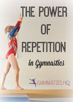 The Power of Repetition in Gymnastics #gymnastics #gymnast