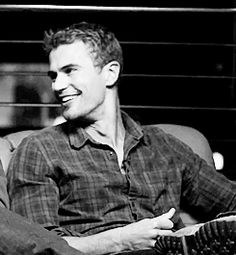 """Theo James is in it. 