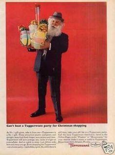 Searching for tupperware Retro Ads, Vintage Ads, Vintage Food, Vintage Kitchen, Santa Claus Images, Tupperware Consultant, Tupperware Recipes, Christmas Graphics, Vintage Tupperware