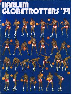1974 Globetrotters Program