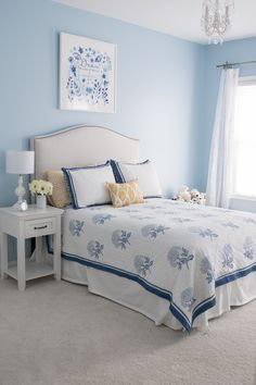 Room Decor Ideas Beach Room Decor Ideas Baby Room Decoration Ideas By Paper Light Blue Rooms, Baby Room Decor, Blue Bedroom Walls, Bedroom Design, Blue Bedroom Decor, Home Decor, Beach Room Decor, Bedroom Design Inspiration, Next Bedroom