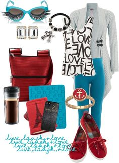 """Live Laugh Love!!!"" by tara282000 ❤ liked on Polyvore"