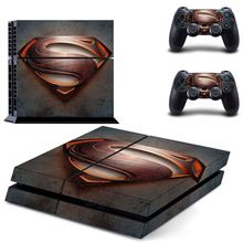 DC Superman Skin Sticker Decal Vinyl For Sony PlayStation 4 Console and 2 Controller Stickers Batman Versus, Playstation 4 Console, Ps3, Funny Cosplay, Dc World, S Icon, Ps4 Controller, Xbox Games, Video Game Console