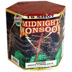 Phantom Fireworks® Midnight Monsoon