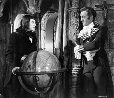Cyril Cusack and David Niven in The Fighting Pimpernel 1950 Cyril Cusack, Murder By Death, Bishop Wife, Herbert Lom, The Scarlet Pimpernel, Death On The Nile, David Niven, Around The World In 80 Days, Famous Men