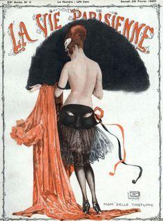 La Vie Parisienne Feb. 1920  Superbe !