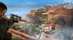 sniper elite 4 HD Background