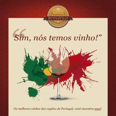 Sim, nós temos!  Já experimentou? Estamos falando do melhor de vinho de Portugal na sua messa!  Venha conferir todas as opções!