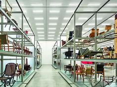 Vitra Designmuseum Schaudepot