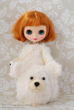 Love her short, fluffy hair!