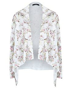 Asda George | Moda Floral Print Waterfall Cardigan | Summer Wear