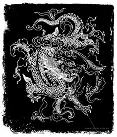 chinese dragons drawings - Google Search