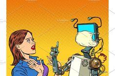 The robot teacher. Kill Carpenter Ants, Artificial Intelligence Computer, 60s Art, Metal Robot, Future Gadgets, Retro Vector, Illustration Art, Illustrations, Kitsch