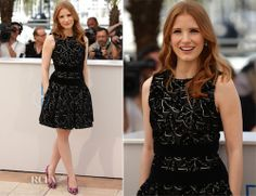 Jessica Chastain #Cannes Film Festival 2014