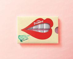 Trident Gum   Packaging design  http://www.boredpanda.com/creative-packaging/#post11