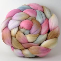 Merino Roving  Wool Roving  19 micron Spinning by clawtreefibers, $17.00    love love love this so much