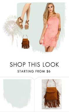 """""""Lovely in Lace"""" by amiclubwear ❤ liked on Polyvore featuring fringe, Wedges and lace"""