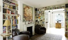 Restful Repositories: 10 Charming Home Libraries | Apartment Therapy